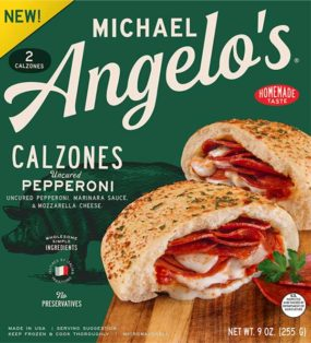 Uncured Pepperoni Mini Calzones Michael Angelo S